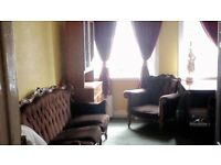 A very big double bedroom,,3 large Windows,( tube Zone 1).£100 per person,maximum two people.
