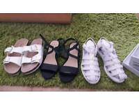 Ladies sandals size5