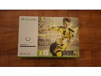 XBOX ONE S WITH FIFA 17 BRAND NEW SEALED