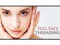 Full Facial Threading