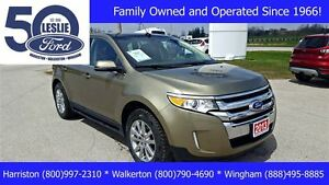 2013 Ford Edge Limited FWD   One Owner   Leather