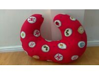 PHP Widgey Red Fossil 5 In 1 Nursing Pillow Feeding Support Cushion Nest Aid