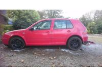 VW Golf GTi 2ltr