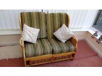 Conservatory furniture, 1 x 2 seater, 2 x 1 seater. Reduced further!!