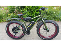Electric Mountain Bike - Wing Sport Fat eBike 48v 1000w 1700w 2000w Very Fast -Top Spec. 12ah Li-on