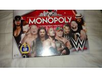 Monopoly WWE edition brand new