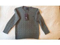 """Authentic, genuine """"Ralph Lauren"""" kid's knitwear jumper."""