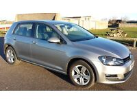 Volkswagen Golf 1.4 TSI BlueMotion Tech Match 5dr (start/stop) (silver) 2015 FREE SERVICE April 2017