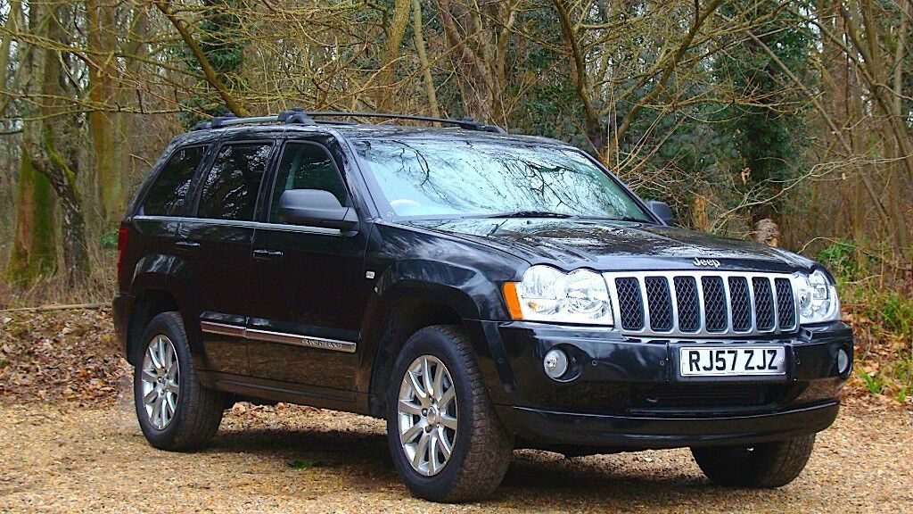 Jeep Grand Cherokee 3.0 CRD V6 Overland Station Wagon 4x4 5dr Fully AA inspected 2007 (57 reg),