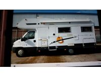 2001 Benimar Europe 6000ST 6 Berth Motorhome. 23911 miles only. (SOLD Subject to finance)