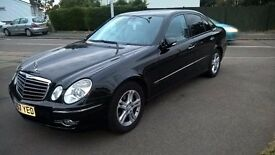 Mercedes Benz E Class Avantgrade. Metalic Black