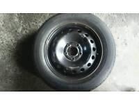 vauxhall Vivaro or renault trafic spare wheel