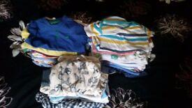 Baby boy bundle 6-9, 9-12, 60 items