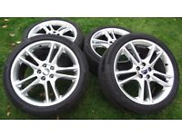 Set of 2015 Ford Mondeo 19 inch Wheels and Tyres - Price Reduced!