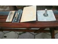 Plastering tools etc.
