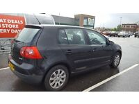 5 seats VW golf 1.6 gt 6 speed