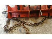 Rigid 461 straight pipe welding clamp