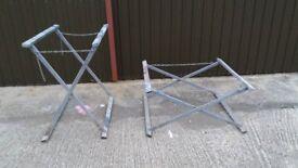 pair of ajustable trestles