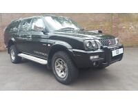 Mitsubishi L200 2.5 TD Warrior NEW ENGINE + 12 MONTHS MOT + CRUISE - LE Doublecab