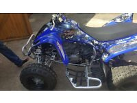 Yamaha raptor 350cc quad very low mileage