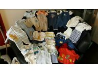 Newborn / First Size / New Baby Boys Clothes Bundle