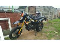 Pulse adrenaline 126cc 2014. Less than 2km hardly used