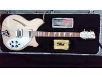 RICKENBACKER 360 Deluxe Thinline Guitar – in Mapleglo finish