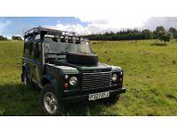 1997 Land Rover Defender 110 SW - CAMPER CONVERSION