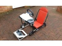 GAMING SPEEDSEAT : FOLDING DESIGN USE WITH PS2/3 Xbox/360 ETC. REDUCED PRICE & POSTAGE OFFER
