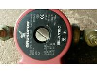 Grundfos central heating pump