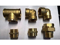PLUMBING ARTICLES, BRASS FITTINGS SALE NEW
