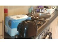 Small black cookworks toaster