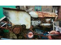 4 Fordson major tractors