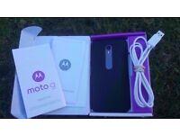 Motorola 3 month old MOTO G 3rd Gen 16 GB Black Unlocked £110