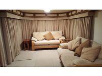 Large static caravan for rent