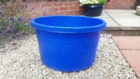 Plastic Storage Containers / Tubs (with lids) (Medium Size)