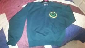 Bassett Green Uniform sweatshirt size 30