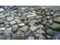Rockery Stone/Paving Blocks/Rubble