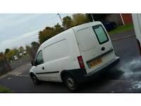 54 Vauxhall combo 1.6 petrol lpg