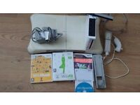 nintendo wii games console + games