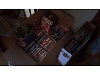 400 + DVD's Movies and Boxsets