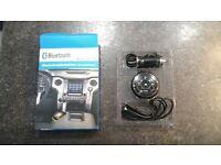 PT-750 AUX Handsfree Bluetooth TF Card FM Audio Receiver Adapter USB Player