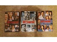 Greys Anatomy dvds series 1,2&3 £8 ono job lot