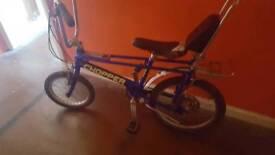 Raleigh Chopper, blue, mk3, cool bike, good condition