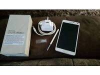 Samsung note 4 white 32gb