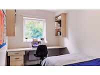 Double room with en suite available. 5 bedroom flat in Union State student accommodation, Glasgow.