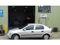 vauxhall astra 2002 only 51k on clock