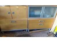 Free storage unit/ office furniture from ikea