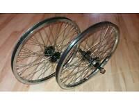 Wanted bmx wheels