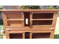 2 tier Large rabbit /guinea pig cage
